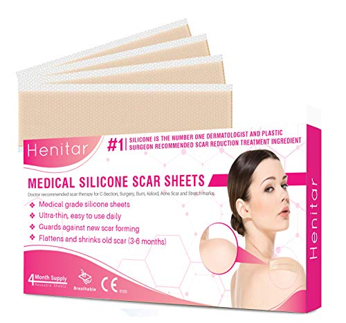 HENITAR Medical Silicone Scar Sheets