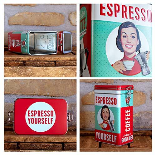 Nostalgic-Art 31104, Say it 50's Espresso Yourself, Aromadose Kitchen, Plastic,...