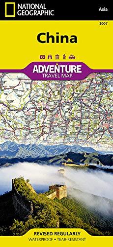 China: NATIONAL GEOGRAPHIC Adventure Maps: Travel Maps International Adventure Map