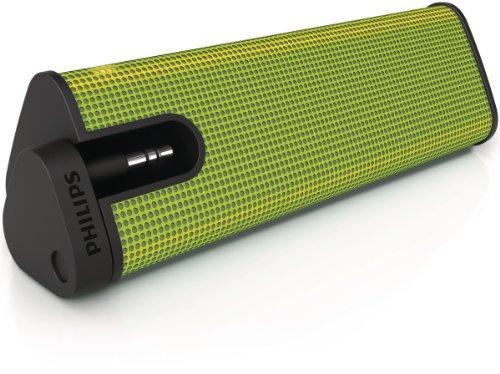 Philips Tragbarer Lautsprecher SBA1610GRN/00 integriert, Neodym, 350–16.000Hz, Grün