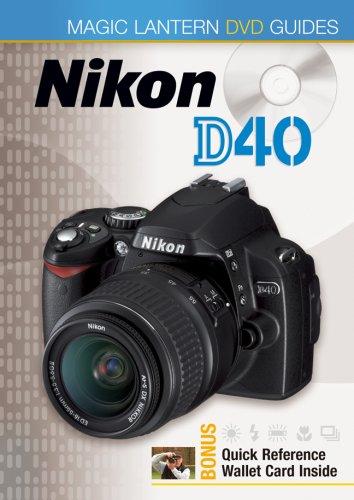 DVD: Magic Lantern DVD Guide for Nikon D40 Digital SLR Camera [DVD]
