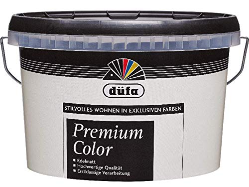Düfa Premium Color Edelmatte Bunte Wandfarbe 2,5 Liter FARBWAHL, Farbe:Oslo