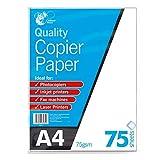 A4 Copier Paper 75 Sheets 75Gsm Photocopy, Laser & Inkjet Printer