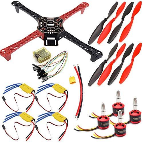 USAQ F450 Quadcopter Drone Kit CC3D 30A ESC 2212 Motor Frame...