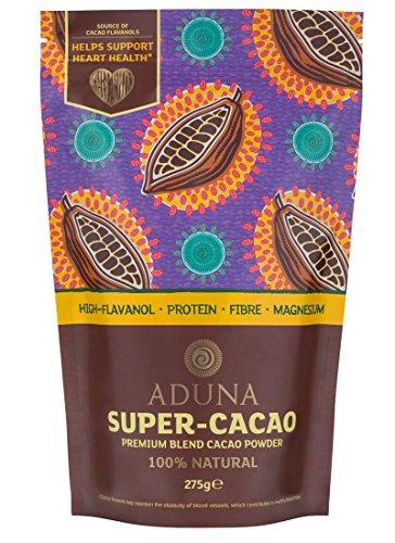 Aduna Hoch Flavanolgehalt Super-Kakao Pulver 275g