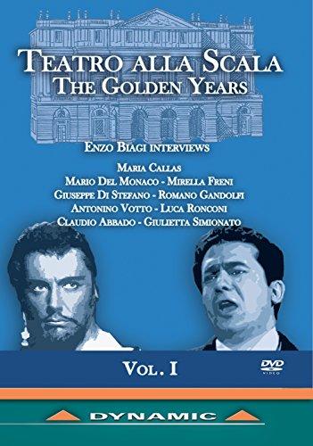 TEATRO ALLA SCALA: The Golden Years, Vol. 1 [DVD]