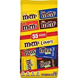 M&M'S Lovers Chocolate Candy Fun Size Variety Assorted Mix Bag, 30.35-Ounce 55 Pieces