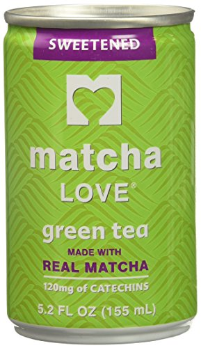Ito En Sweetened Green Tea Made with Real Matcha, 5.2 fl oz, Package may vary