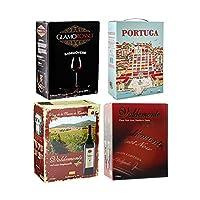 ワインセット 箱ワイン 赤箱セット 赤ワイン 4種類 BOXワイン ボックスワイン BIB バッグインボックス バルデモンテ 御中元 贈物