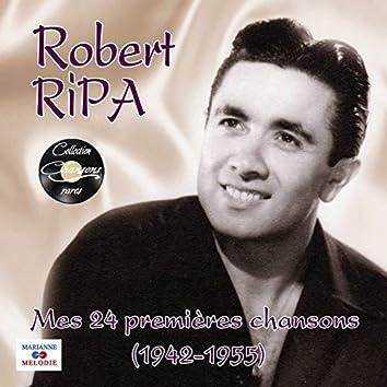 Mes 24 premières chansons 1942 - 1955 (Collection chansons rares)