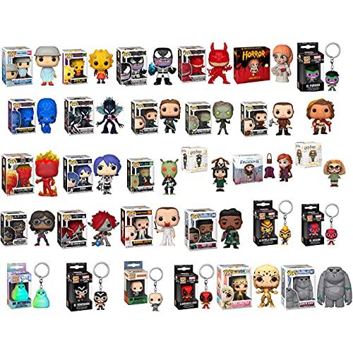 Pack Offre Funko 30 Unités Figurines et Porte-clés