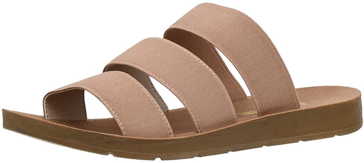 Women's Cushionaire Indy 3 Band Stretch Sandal
