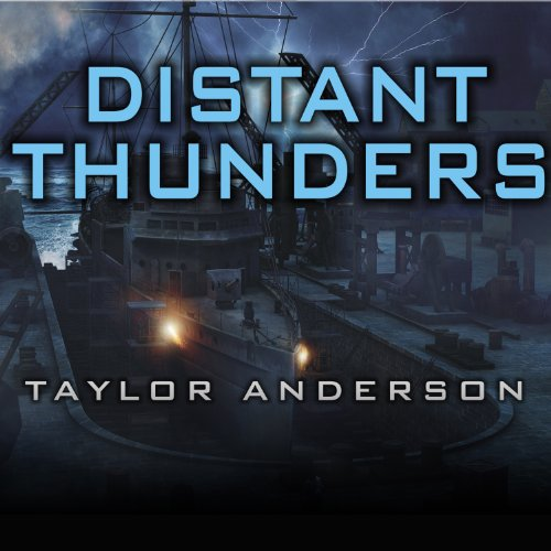 Distant Thunders audiobook cover art