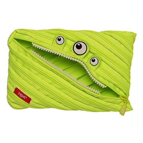 ZIPIT Monster Big Pencil Case, Lime