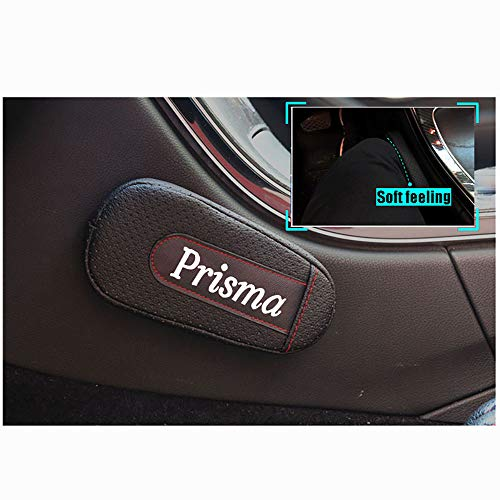 2 STKS lederen Voetsteun Kussen Autodeur arm pad Armsteun Rest Pads Accessoires Voor Chevrolet Prisma