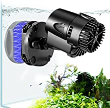 AQQA Wave Maker Pump, 530GPH Aquarium Circulation Pump 360 Degree Rotatable Submersible Powerhead Pump with Magnet Suction Base for Marine and Freshwater Aquariums