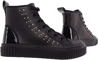 Michael Kors Sneakers Donna 43T0GTFE6L Gertie Black Pelle Nera