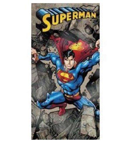 DC Comics Superman Rocas de la Toalla de Playa