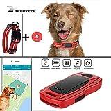 ZEERKEER Pet GPS Tracker, Dog GPS Tracking and pet Finder, The GPS Dog Collar Attachment, Locator Waterproof,...
