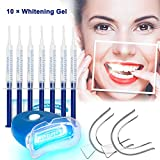 Kit de Blanqueamiento Dental Gel Blanqueador de Dientes Profesional Teeth Whitening Kit,...