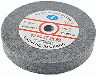 "Metal polishing wheel 6"" x 1"" 7p Non woven abrasive wheel Nylon Fiber polishing wheel Abrasive disc"