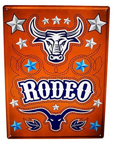 LEotiE SINCE 2004 Plaque en Métal Métallique Poster Mural tin Sign 40x30 cm Retro Déco Rodeo