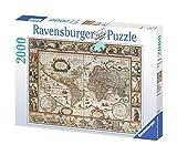 Ravensburger Puzzle 2000 Pezzi, Mappamondo 1650, Collezione Carte e Mappe, Jigsaw Puzzle per Adulti, Puzzles Ravensburger - Stampa di Alta Qualità, Dimensione Puzzle: 98x75cm