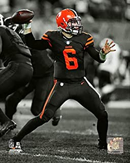 Baker Mayfield Cleveland Browns Action Photo (Size: 8