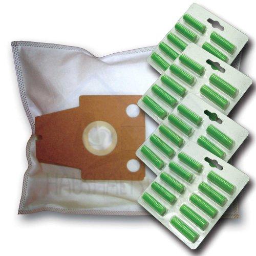 40 Staubsaugerbeutel + 40 Duftstäbe geeignet für Siemens Dynapower VS08G0000…9999, Original XXL, VZ52AFP (Typ:P), Hairfree Specialist, Org. Gr. VZ 52 AFP, Techno Power
