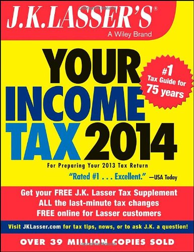 Image OfJ.K. Lasser's Your Income Tax 2014: For Preparing Your 2013 Tax Return