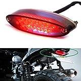12V 28 LED Motorcycle Brake Stop Running Tail Light License Plate Lights For Honda Yamaha Suzuki Cruiser Bike ATV