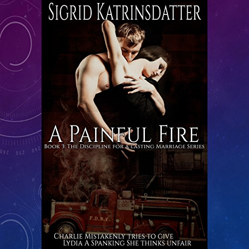 A Painful Fire audiobook cover art