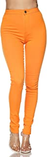 Super High Waisted Stretchy Skinny Jeans in 10 Colors (S-XXXL)