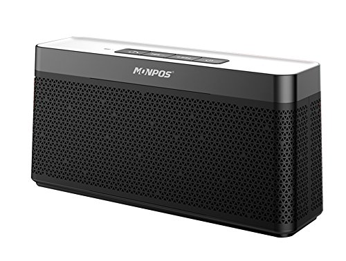 Bluetooth Speaker with Built-in Mic,16W Dual-Driver, Portable Wireless Speaker with Superior Stereo Sound, Rich Bass. 3