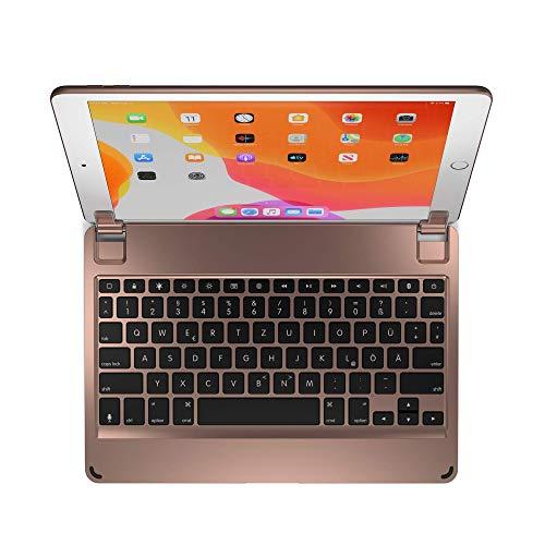 Brydge Clavier sans Fil 10.2, Compatible avec iPad 8e génération et iPad 7e génération Disposition Allemande QWERTZ