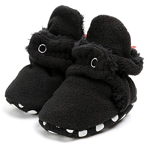 Sabe - Zapatillas de Forro Polar para niños y niñas, con Suela Suave, Unisex, Antideslizantes, Ideales para el Primer cumpleaños o Navidad…