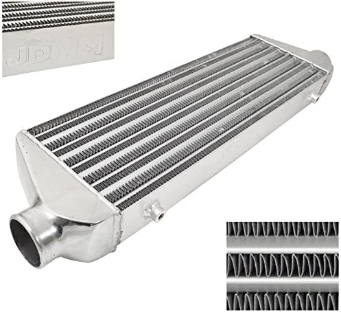 Universal 26.5/'/'x10.5/'/'x3/'/' Turbo FMIC Aluminum Front Mount Intercooler Type-Z