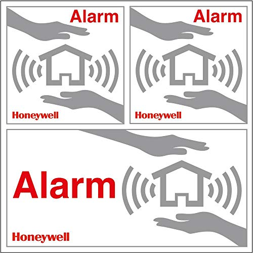 Honeywell Home Security Fenster Aufkleber-Set