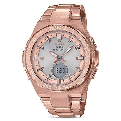 G-Shock By Casio Women's Baby-G G-MS MSG-S200DG-4A Watch Rose Pink