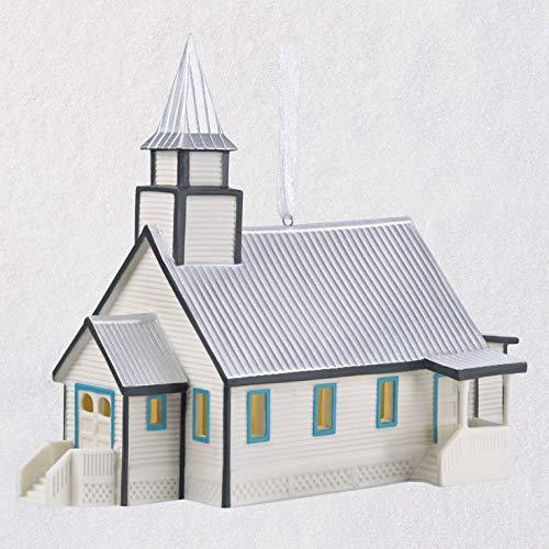 HKO - When Calls The Heart Hope Valley Church Porcelain 2018 Ornament