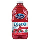 Ocean Spray Diet Cranberry Juice Drink, 64oz Bottle (Pack of 6, Total of 384 Oz)