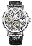 Oracle Byzantine Tourbillon Luxury Men's Watch (Black Alligator Strap)