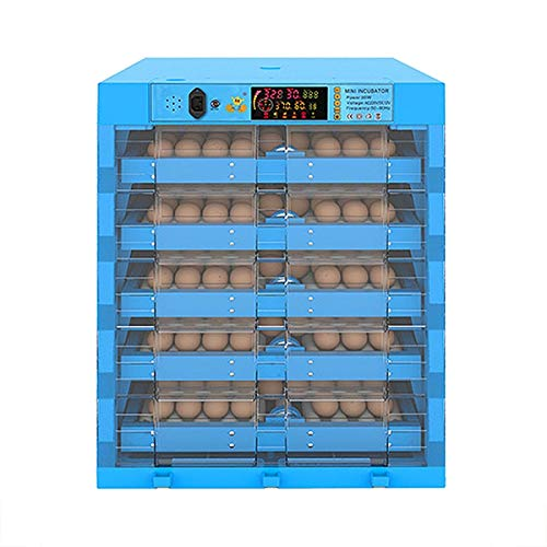 ZFF Eggs Incubator, Automatic Turning 320 Large Poultry Hatcher for Hatching Chicken Duck Dove Quail Pigeons Farm Breeding Intelligent Control