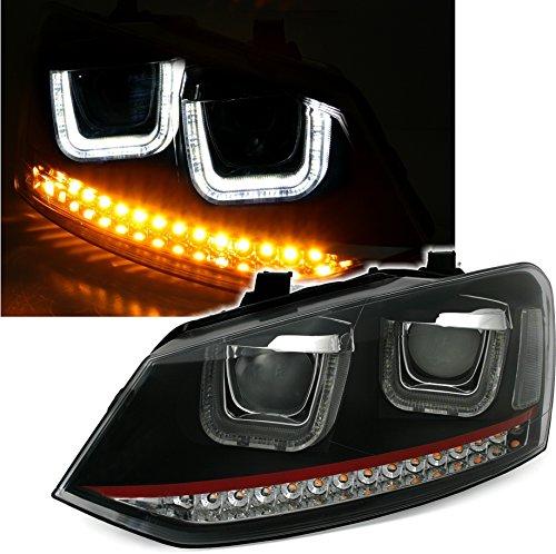 Eagle Eyes VK171-B3WU0-2VSSRG Scheinwerfer Set, dynamische LED Lauflicht Blinker