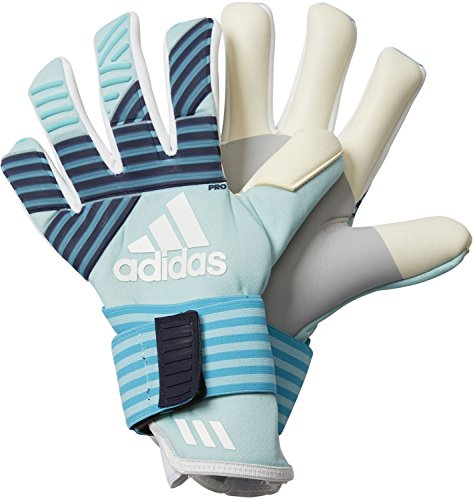 adidas Erwachsene ACE Trans Pro Torwarthandschuhe, Energy Aqua f17/energy Blue s17/legend Ink f17/Trace Blue f17, 11