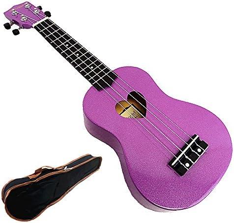 Woodnote Beautiful Wooden Purple with outlet Uku Hole Soprano Heart 21' Superlatite