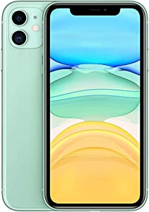 Apple iPhone 11 with FaceTime - 128GB 4GB RAM 4G LTE Green Single SIM E-SIM - MHDN3AA\A