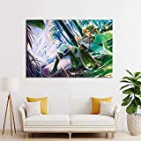 REGF Lienzo Posters 60 * 90cm Sin Marco Sword Art Online Anime Poster Pintura Decorativa para Sala de Estar y Dormitorio