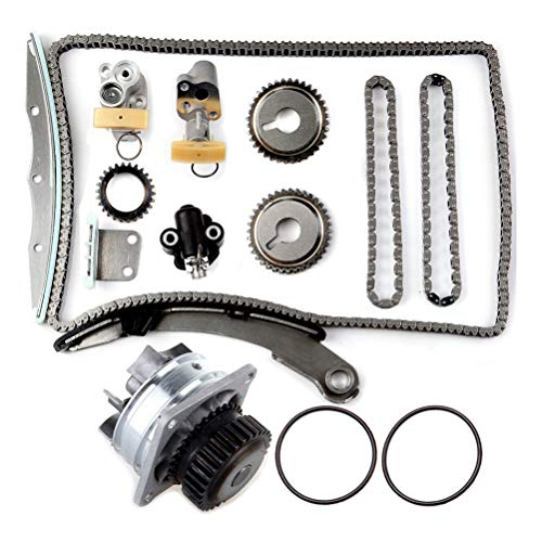 ANPART Timing Chain Water Pump Kit Compatible for 2005 2006 for NISSAN Altima 3.5L All 131-2290 41123TKNI034
