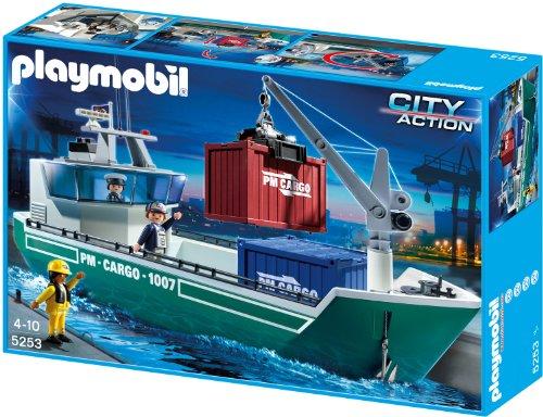 Playmobil 5253 - Frachtschiff mit Verladekran